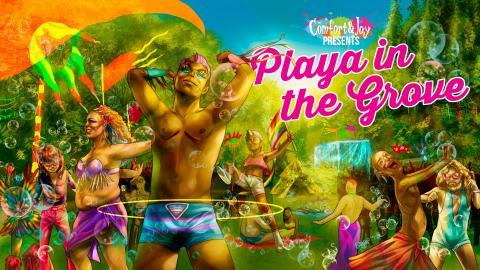 Playa in the Grove Art